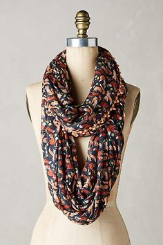 Foxes Infinity Scarf - anthropologie.com #anthrofave