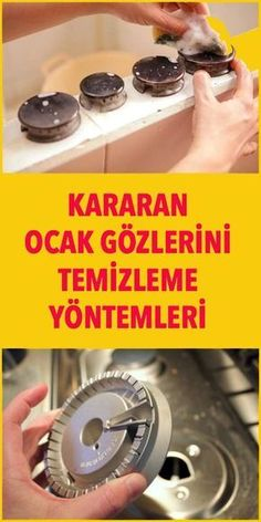 Kararan Ocak Gözlerini Temizleme Yöntemleri - Kararan Ocak Gözlerini Temizleme Yöntemleri Estás en el lugar correcto para diy furniture Aquí p - Diy Cleaning Products, Cleaning Hacks, How To Clean Burners, Turkish Kitchen, Cleaning Agent, Cooking Timer, Hearth, Clean House, Stove