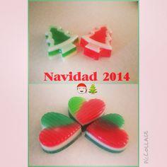 Jabones glicerina navidad 2014