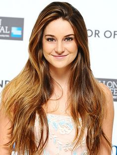 Shailene Woodley. I want her hair.