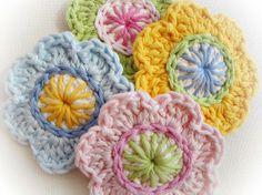 Crocheting: Crochet Flowers Pattern OH 02