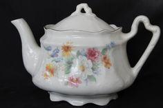 Vintage Arthur Wood and Son, Staffordshire, England #6288, English teapot, housewares,serving,teaparty