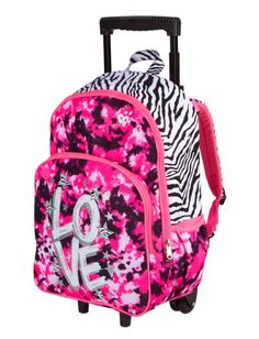Rolling Backpacks by Disney. Great for School and More Rolling ...