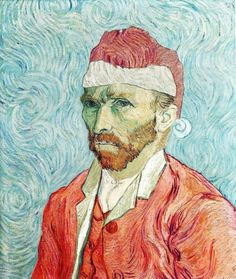 Autoritratto di #Natale #VanGogh #christmas