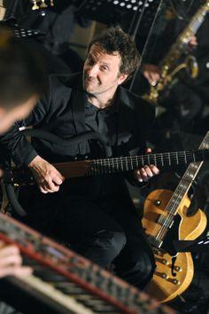 Ante Gelo - guitars  Nina Badric ft. New Festival Orchestra @ Dvorac Otočac, 7.6.2014. #ninabadric #newfestivalorchestra #dvoracotocac