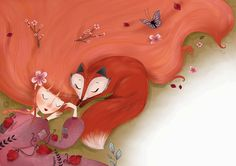 S E R N U R E T T A - illustration blog: fox&girl
