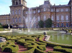 Blenheim Palace gardens - Google Search