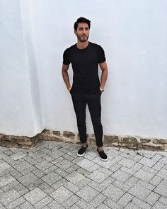 BlackonBlack www.reza-style.com & @reza__01 #rezastyle #fashion #lifestyle #health #suit #outfit #mensttyle #men