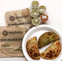 Nuchas Empanadas NYC Deli Shop, Hand Pies, Food Packaging, Decking, Food Truck, Annie, Crock, French Toast, Restaurants