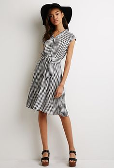 Fred perry red gingham dress