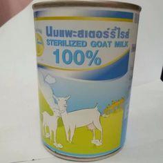 ขอแนะนำ  Sirichai Pets Smile Sterilized Goat Milk นมแพะสเตอร์รี่ไรส์ขนาด400ml x 3กระป๋อง  ราคาเพียง  380 บาท  เท่านั้น คุณสมบัติ มีดังนี้ นมแพะแท้100% ใช้ได้ทั้งสุนัขและแมว ไม่ทำให้สัตว์เลี้ยงท้องเสีย Dog Milk, All Dogs, Coffee Cans, Pet Supplies, Goats, Canning, Drinks, Food, Drinking