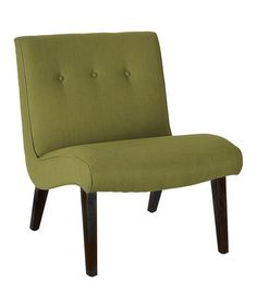Look at this #zulilyfind! Sweet Pea Green Nelson Linen Chair #zulilyfinds New Living Room, Living Room Chairs, Living Room Furniture, 60s Furniture, Furniture Design, Compact Furniture, Green Furniture, Accent Furniture, Green Lounge
