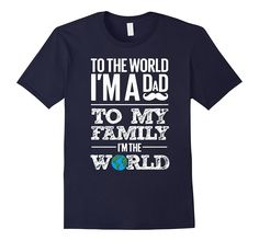 Fathers Day I Am A Dad- I Love My Family T-shirt