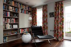 Design de interiores: Nicola Holden Designs. Londres, Inglaterra, Reino Unido. http://www.houseandgarden.co.uk/gallery/small-spaces-1#rW9Vo5G28O1