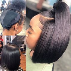 Lace Front Black Wig black men's hair replacement wigs brazilian afro wigs – Mens Hairstyles – Hairstyles Weave Ponytail Hairstyles, Ponytail Styles, My Hairstyle, Curly Hair Styles, Natural Hair Styles, Short Quick Weave Hairstyles, Updo, Funky Hairstyles, Formal Hairstyles