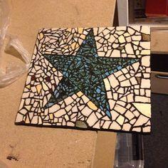 Stjerne lavet i mosaik