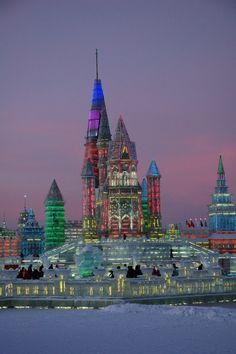 Harbin Ice Festival, Northeast China