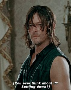"""Abraham asks Daryl. . . S6 """"Knots Untie"""".. did Daryl think of Beth just then?"""