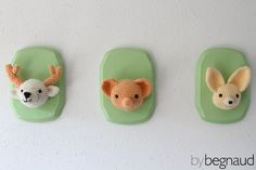 Adorable, hand crocheted animals. Find more here: www.bybegnaud.weebly.com