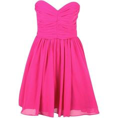 Candance Aqua Ruched Prom Dress in Pink ($7.62) ❤ liked on Polyvore featuring dresses, vestidos, pink, short dresses, chiffon dress, ruched dress, chiffon cocktail dress and short chiffon dress