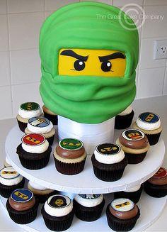 Ninjago Cake & Cupcakes