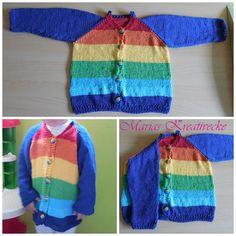 Regenbogenjacke in Größe ca 110/116 35 Euro Baumwolle