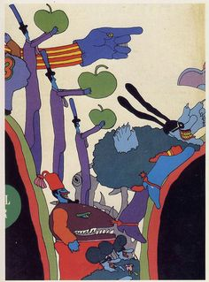 O ilustrador de Yellow Submarine