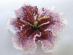 Casablanca büyük çiçekli boncuklar çiçek buketi
