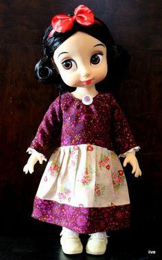 iiven of wonder: Disney Animators' Doll - Snow White's new dress
