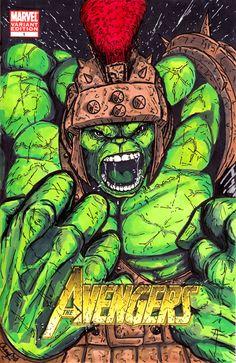 #Hulk #Fan #Art. (Planet Hulk Cover) By: MChampion. (THE * 5 * STÅR * ÅWARD * OF: * AW YEAH, IT'S MAJOR ÅWESOMENESS!!!™)[THANK Ü 4 PINNING!!!<·><]<©>ÅÅÅ+(OB4E)