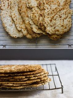 quick gluten-free flat bread // edible perspective