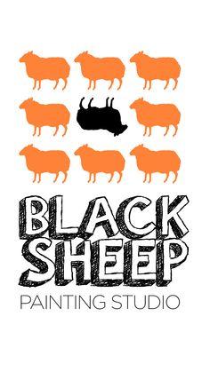 Logo of www.facebook.com/blacksheeppaintingstudio