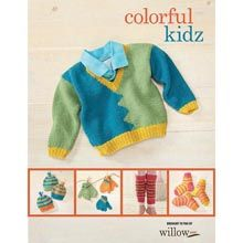 Colorful Kidz—Intermediate Knit Patterns eBook - Willow Yarns