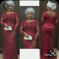 Enchanting aso ebi styles that will inspire you - Opera News Official African Lace Styles, African Dresses For Kids, Latest African Fashion Dresses, African Dresses For Women, African Print Fashion, Ankara Styles, African Clothes, Ankara Fashion, Lace Styles For Wedding