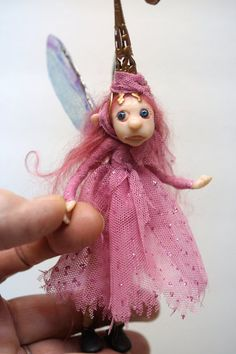 SALE Mom and baby pixie FAIRY 22 ooak poseable by DinkyDarlings