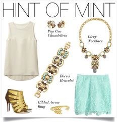Mint is the color of the season so get your Hint of Mint here! #stelladotstyle