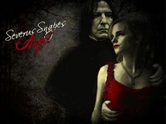 Severus and Hermione - hermione-and-severus Wallpaper