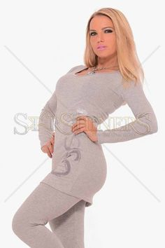 MissQ Simple Fashion Grey Set