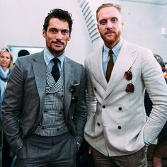 One more of these two @davidgandy_official @joeottawaystyle at @privatewhitevc #londoncollectionsmen #LCMSS16 #davidgandy #LCM #joeottaway @noctismagazine @noctismag