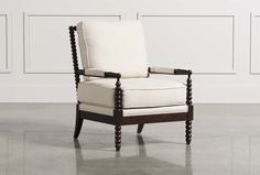 Kingsley Accent Chair   Living Spaces #MakeoverMyLivingSpace @livingspaces  @alexandraevjen