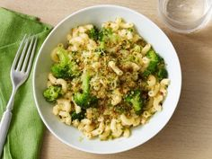 Elbow Macaroni with Crispy Breadcrumbs and Broccoli