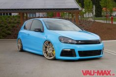 "OZ Racing Ultraleggera HLT 20"" customized on Golf VI GTI RS, by Gepfeffer"