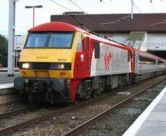 Virgin Pretendolino class 90   Flickr - Photo Sharing! Electric Locomotive, Diesel Locomotive, Steam Locomotive, Uk Rail, Rail Transport, Standard Gauge, Train Pictures, Electric Train, British Rail