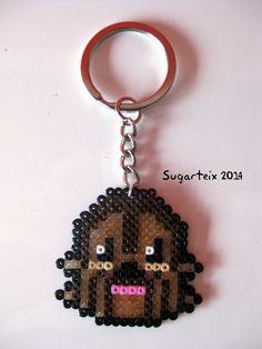 Llavero cabeza Chewaca.  Si te gusta puedes adquirirlo en nuestra tienda on-line: http://www.sugarshop.eu