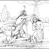 Rosary Coloring Pages for the Luminous Mysteries