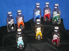 Galaxy Syrup Space Ranger Bottles