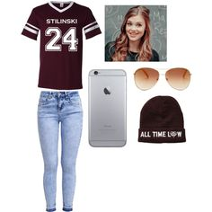 Stiles Stilinski Teen Wolf by h-akther on Polyvore featuring New Look and Tommy Hilfiger