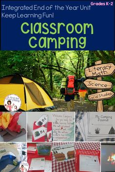 Welcome to Camp Learn Some More! Click here for an inclusive ELA, writing, math, science & social studies integrated camping themed unit. Also includes work for early finishers! Review skills and keep your first & second grade students motivated at the end of the year with this differentiated, rich resource and review of skills  (K, 1st, 2nd grade, balanced literacy, integrated unit, mini-lessons}