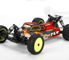 22-4 2.0 Race kit: 1/10 4WD Buggy (TLR03007): Team Losi Racing