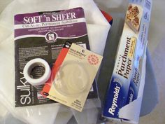 Fix holes or tears in lightweight, sheer or gauze fabric with Stitch Witchery and Stabilizer